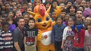 The 2017 Summer Games Mascot in Canada