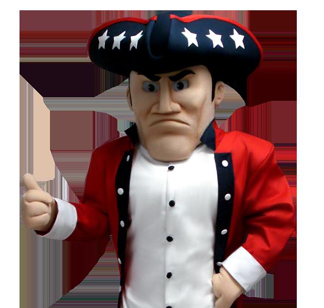 Patriot Custom Mascot Costume