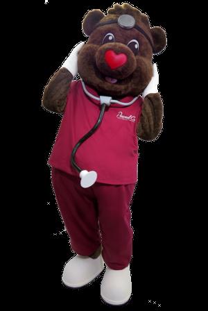 Custom Business Bear Mascot Manufacturer