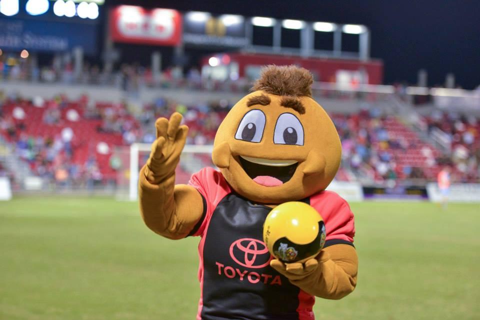 San Antonio Scorpion mascot