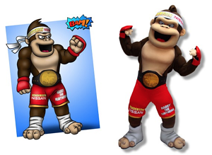 Harry the Heavyweight mascot