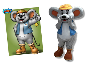 Smuggler's Notch Resort Mogul Mouse mascot