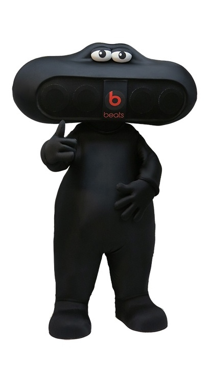 Beats by Dre Custom Mascot