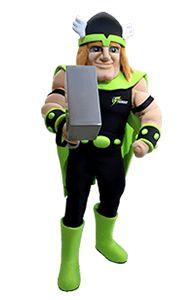 Sydney Thunder Thor Custom Mascot