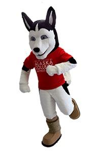 University of Alaska Husky Custom Mascot