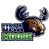 University of Main at Augusta Moose Logo