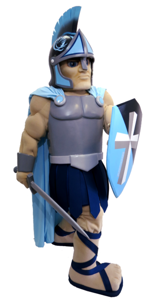 Custom Mascot Costume Knight School Creator