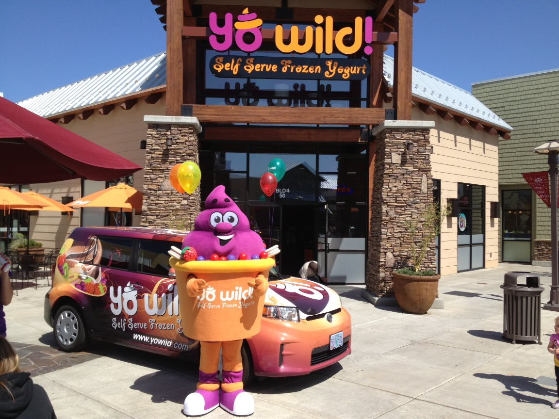 YoWild outside store