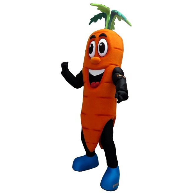 Carrot Custom Mascot