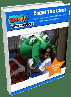 Coqui The Chef Custom Custom Mascot Pupper eBook
