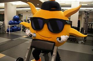 STay fit as a mascot to improve your cheerleading!