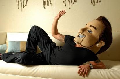 Anthony Scali mascot head