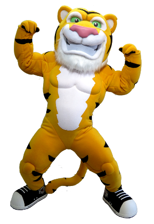 Stripes Hamilton Tiger-Cats Mascot