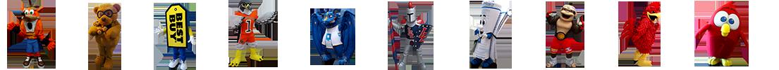 Custom Mascot Costumes BAM Mascots