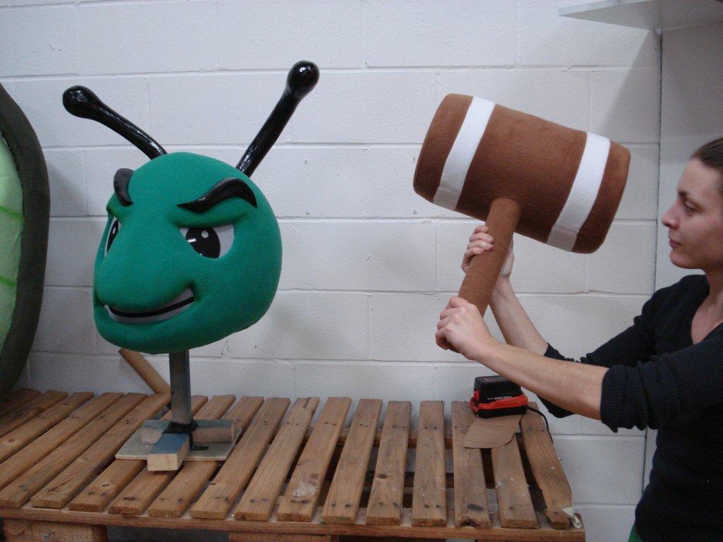 We love working with custom mascots