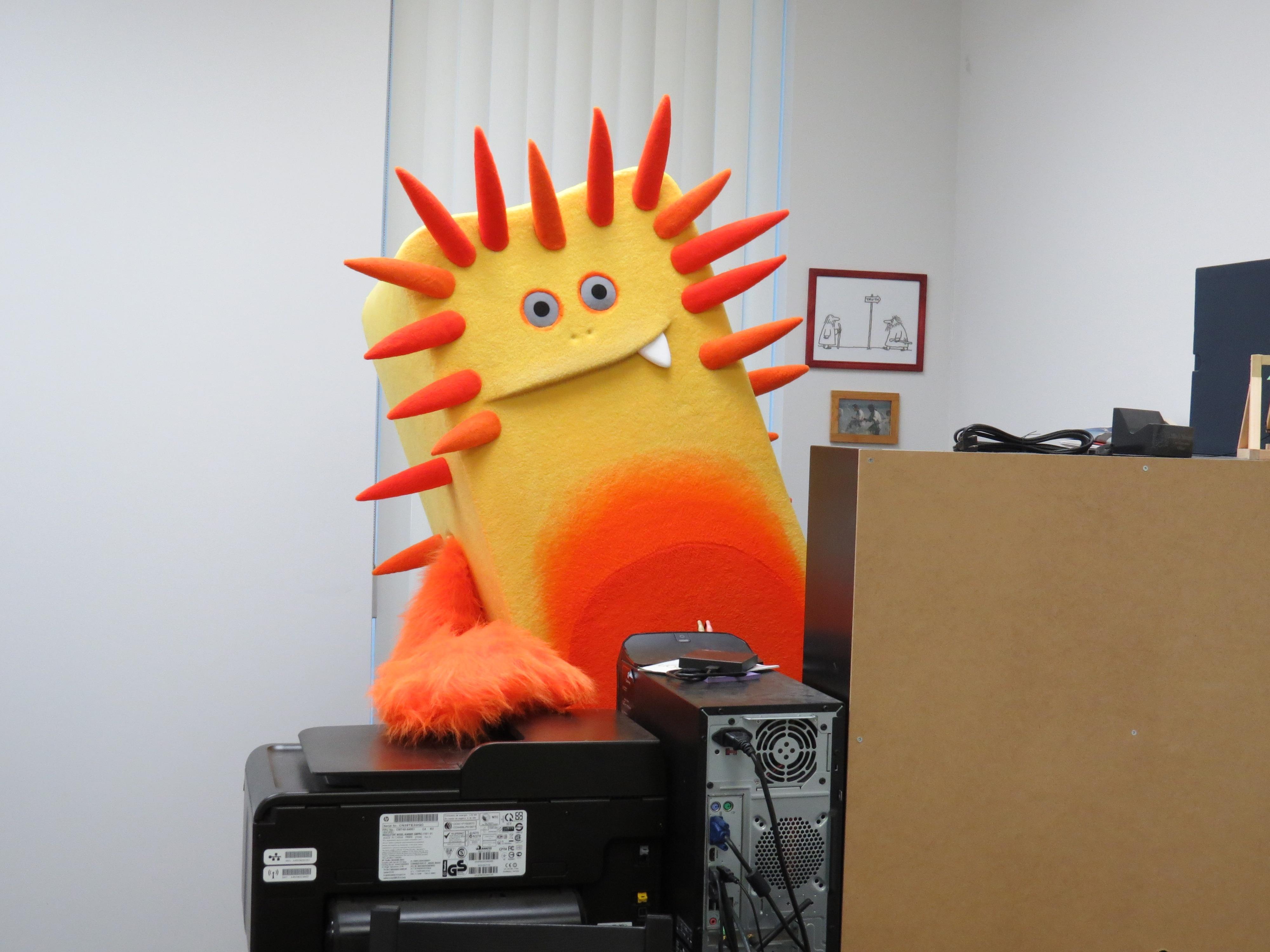 BAM Mascots Office